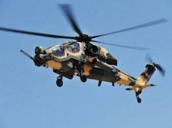 вертолет турецкий