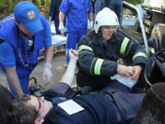 Сотрудник МЧС в Полоцке спас жизнь прохожему