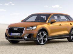 Audi назвала дату старта российских продаж кроссовера Q2
