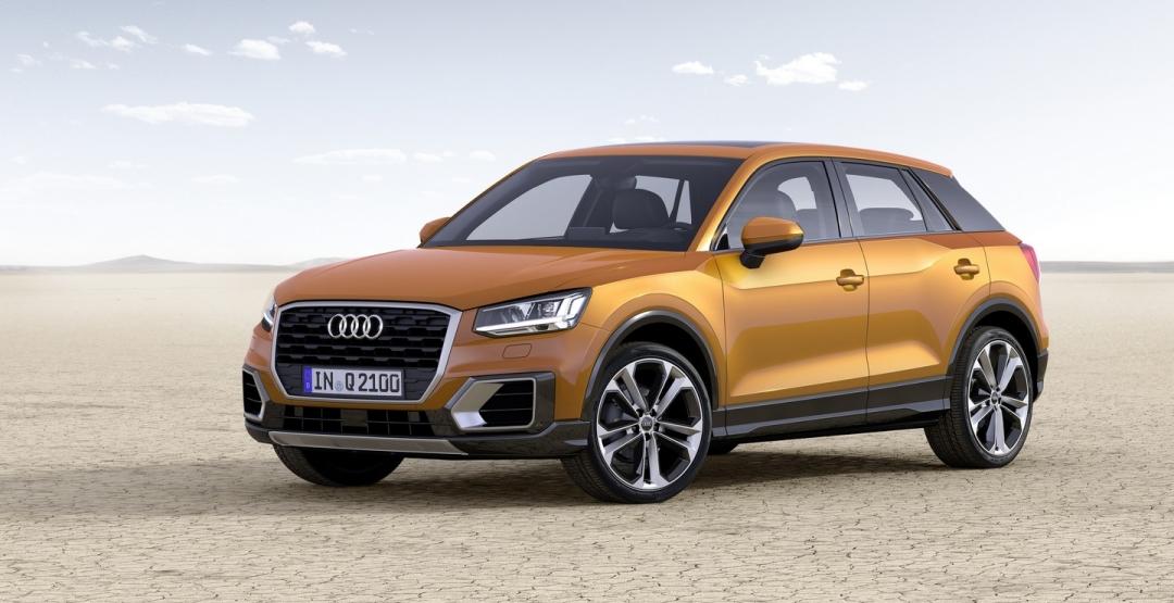 Audi опубликовала старт продаж нового кроссовера Q2