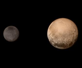 Плутон и его луна