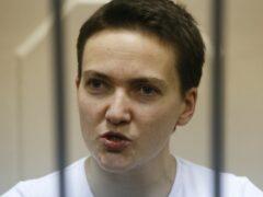 Савченко во время оглашения приговора запела украинскую народную песню