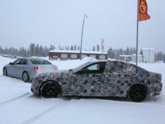 BMW M5 новейшего поколения замечен был в Скандинавии на испытаниях