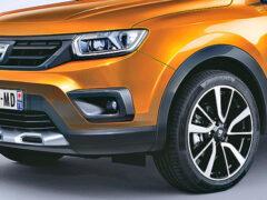 Renault утвердила дизайн кроссовера Duster нового поколения
