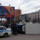 В Туле на Красноармейском проспекте перевернулся грузовик