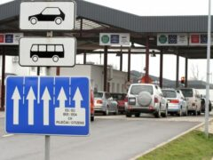 Километровые очереди образовались на белорусско-литовской границе