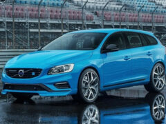 Volvo обновила «заряженный» универсал V60 Polestar