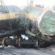 На Алтае с рельсов сошли восемь вагонов с серой и серной кислотой