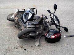 Мопед угодил под грузовик возле Мозыря: два человека погибли