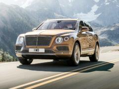 В Россию прибыл кроссовер Bentley стоимостью 17 млн рублей