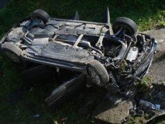 Пьяная компания перевернулась на Audi: погиб 2-летний ребенок