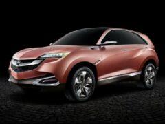 Компактный кроссовер Acura CDX рассекретили до официальной премьеры