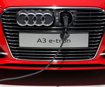 электрокар Audi