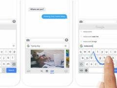 Google представила для iOS клавиатуру со встроенным поиском
