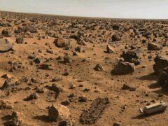 Виртуальные археологи обнаружили на Марсе пирамиду и астронавта