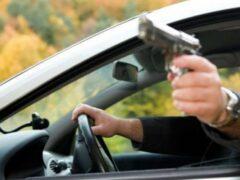 В Москве водитель Chevrolet пытался расстрелять пассажиров Range Rover