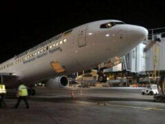 Украинский лайнер после посадки в Тель-Авиве «встал на дыбы»
