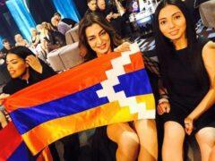 Участницу «Евровидения» от Армении могут исключить за флаг Карабаха