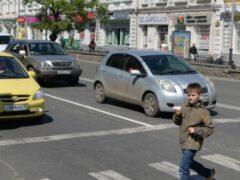 В Москве водитель сбил семилетнего мальчика на переходе и скрылся