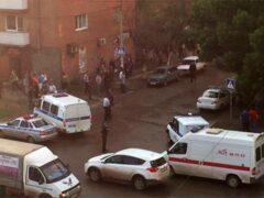 В Астрахани при взрыве гранаты во время драки пострадали три человека
