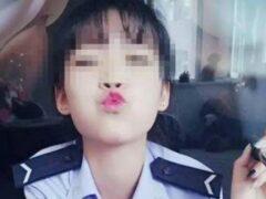 Китаянка сделала селфи без штанов и была выгнана из полиции