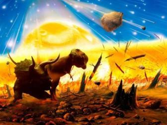 метеорит динозавры