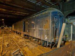 В метро Нью-Йорка вспыхнул сильный пожар