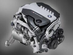 Компания BMW представила двигатель с четырьмя турбинами