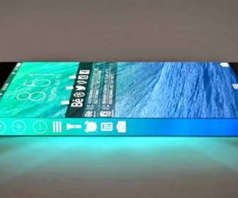 смартфон Apple с «круговым дисплеем»