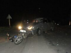 В Воронеже пьяные супруги-автомойщики угнали Mazda и попали в ДТП