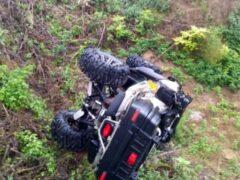 В Тамбовском районе квадроцикл врезался в столб: один мужчина погиб