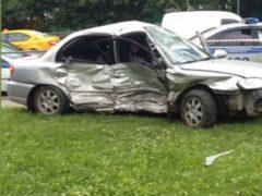 В Москве в результате ДТП погибла женщина
