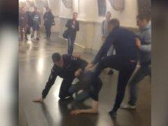 В Москве пассажир метро пробил голову полицейскому гаечным ключом