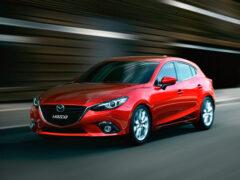 В Сети опубликован первый тизер обновленной Mazda3