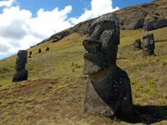 На истуканах острова Пасхи найдены бактерии омоложения
