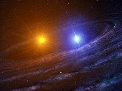 Астрономы открыли новую двойную звездную систему
