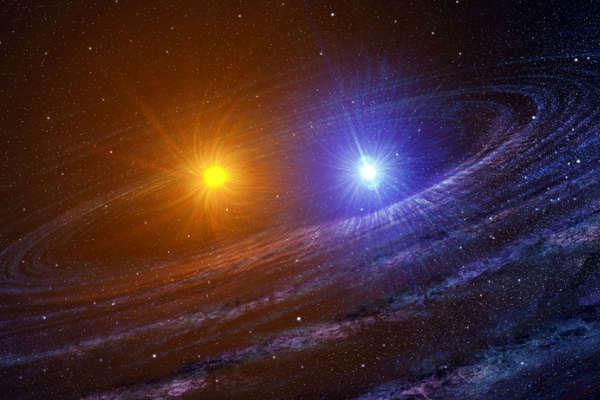 Найдена новая двойная звездная система— Астрономы