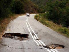 Износ дорожного фонда на Украине достиг почти ста процентов