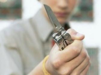 нож подросток