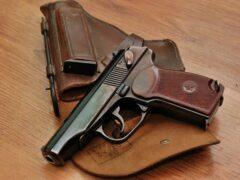 В Красноярске у сотрудника ГИБДД отобрали табельное оружие