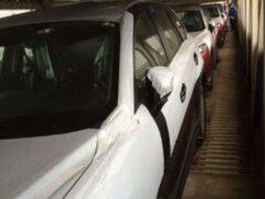 В Петербурге юные воры разобрали на запчасти 8 новых машин в автовозе