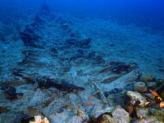 Археологи нашли «остров погибших кораблей»