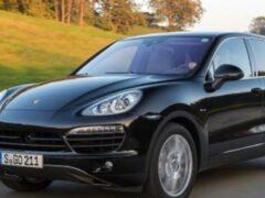В Петербурге полиция задержала угонщиков Porsche