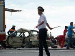 Под Севастополем микроавтобус с детьми попал в ДТП, погибли двое