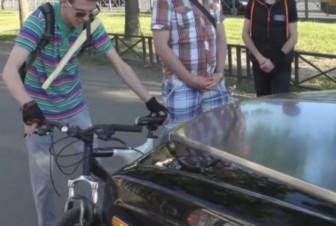 СтопХам велосипед иномарка