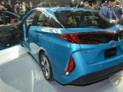 Toyota продолжает усовершенствование следующей версии Prius Prime