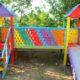 В Кемерове на девочку упала железная лестница на детской площадке
