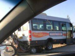 В Нижегородской области произошло крупное ДТП с микроавтобусом