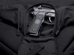 В Саратове задержали мужчину, который забыл в такси сумку с пистолетом