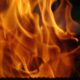 Двое жильцов пострадали при пожаре в жилом бараке в Хабаровске